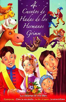 COL. 4 CUENTOS DE HADAS DE LOS HERMANOS GRIMM (2 TITULOS)
