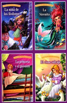 COL. CUENTOS DE HADAS DE ANDERSEN (4 TITULOS DIFERENTES)