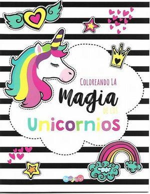 COLOREANDO LA MAGIA DE LOS UNICORNIOS