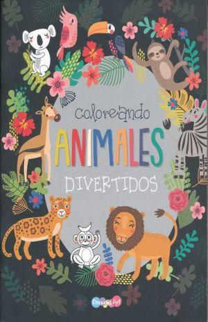 COLOREANDO ANIMALES DIVERTIDOS