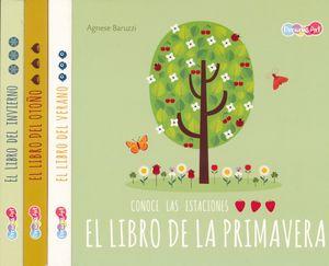 Col. Conoce las estaciones. Primavera / Verano / Otoño / Invierno / pd. (4 títulos / venta individual)