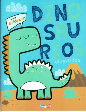 Dinosaurios divertidos. Libro para colorear
