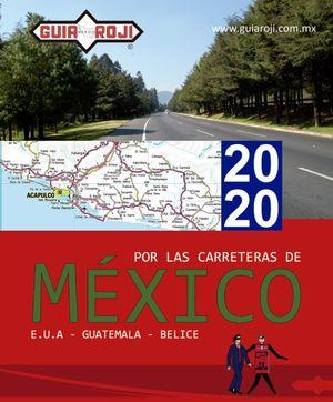 Atlas de carreteras México 2020