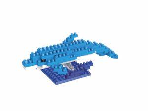 Rompecabezas Minibloques 3D Delfín (59 pzas.)