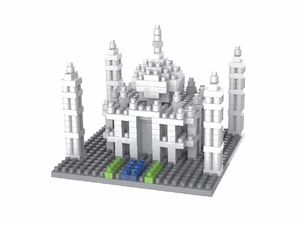 Rompecabezas Minibloques 3D Taj Mahal (409 pzas.)