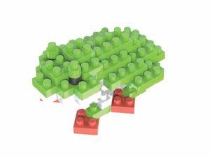 Rompecabezas Minibloques 3D Rana (61 pzas.)