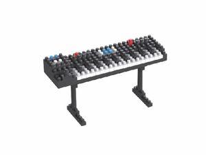 Rompecabezas Minibloques 3D Sintetizador (134 pzas.)