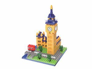 Rompecabezas Minibloques 3D Big Ben (448 pzas.)