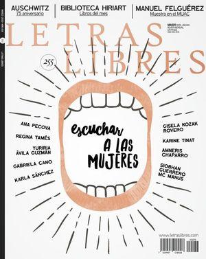 Revista Letras Libres #255. Escuchar a las mujeres