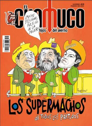 Revista El Chamuco #413. Los supermachos de todos los partidos