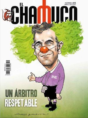 Revista El Chamuco #415. Un árbitro respetable