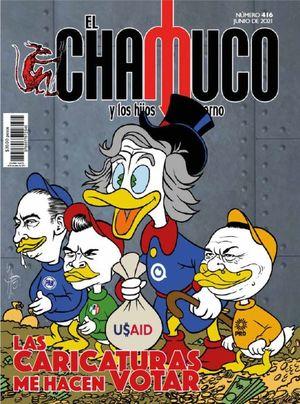 Revista El Chamuco #416. Las caricaturas me hacen votar