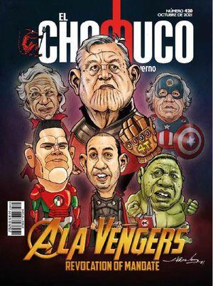 Revista El Chamuco #420. A la vengers. Revocation of mandate