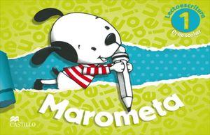 MAROMETA 1 LECTOESCRITURA. PREESCOLAR (INCLUYE CUADERNO DE TRAZOS)