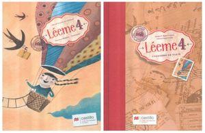 PAQ. LEEME 4 PRIMARIA / 2 ED. (LIBRO DE LECTURAS + CUADERNO DE VIAJE)