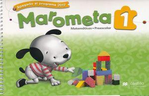 PAQ. MAROMETA MATEMATICAS 1 PREESCOLAR / 3 ED. (LIBRO DE ESTUDIO + CUADERNO DE TRABAJO)
