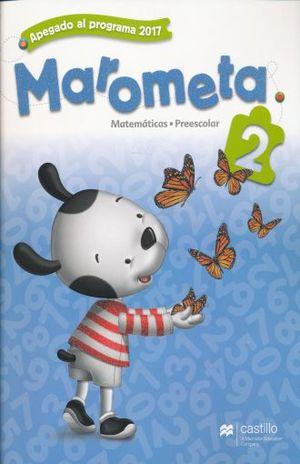 PAQ. MAROMETA MATEMATICAS 2 PREESCOLAR / 3 ED. (LIBRO DE ESTUDIO + CUADERNO DE TRABAJO)