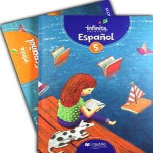 PAQ. ESPAÑOL 5 SERIE INFINITA PRIMARIA (LIBRO DE ESTUDIO + CUADERNO DE TRABAJO)