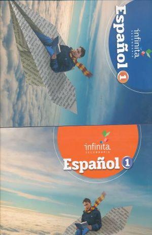 PAQ. ESPAÑOL 1 SERIE INFINITA SECUNDARIA (LIBRO DE ESTUDIO + CUADERNO DE TRABAJO)