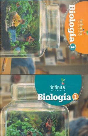 PAQ. BIOLOGIA 1 SERIE INFINITA SECUNDARIA (LIBRO DE ESTUDIO + CUADERNO DE TRABAJO)