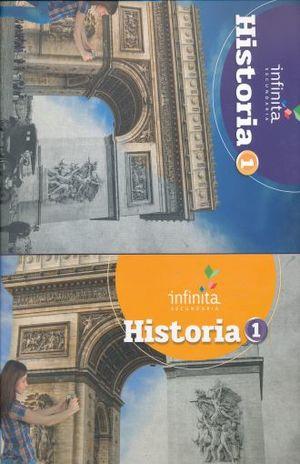 PAQ. HISTORIA 1 SERIE INFINITA SECUNDARIA (LIBRO DE ESTUDIO + CUADERNO DE TRABAJO)