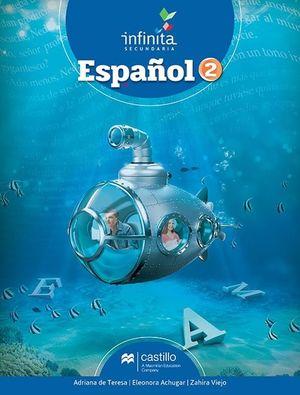 PAQ. ESPAÑOL 2 SERIE INFINITA SECUNDARIA / (LIBRO DE ESTUDIO + CUADERNO DE TRABAJO)