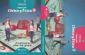 PAQ. CIVICA Y ETICA 3 SERIE INFINITA SECUNDARIA (LIBRO DE ESTUDIO + CUADERNO DE EVIDENCIAS)