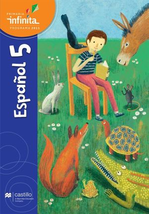 Paq. Español 5. Serie Infinita. Primaria (Libro de estudio + cuaderno de práctica y evalución)