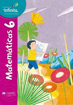 Paq. Matemáticas 6. Serie Infinita. Primaria (Libro de estudio + cuaderno de práctica y evaluación)