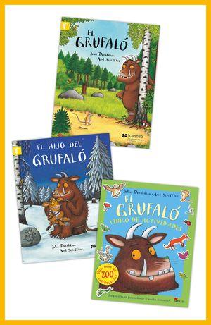 Paquete 2. El Grufaló / El Grufaló / El hijo del Grufaló / El Grufaló actividades