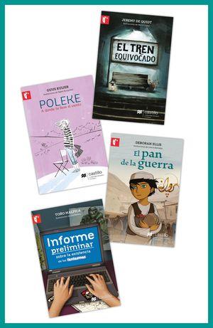 Paquete 7. Historias para viajar / El tren equivocado / Poleke. A donde te lleve el viento / El Pan de la Guerra / Informe preliminar