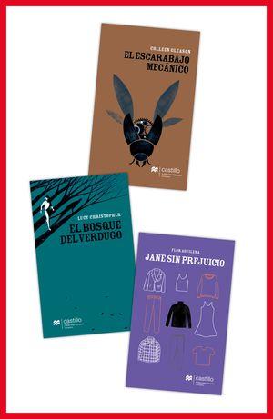 Paquete 10. De amor, miedo y otras historias / El escarabajo mecánico / El bosque del verdugo / Jane sin prejuicio