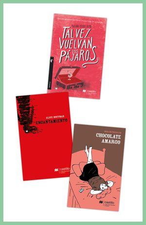 Paquete 11. Para los más lectores / Tal vez vuelvan los pájaros / Encantamiento / Chocolate amargo