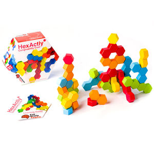 Hex Actly hexagonos apilables