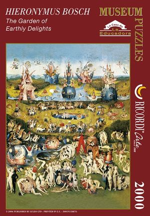 Rompecabezas Jardín de las delicias (2000 pzas.)