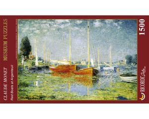 Rompecabezas Los botes rojos Argenteuil (1500 pzas.)