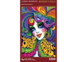 Rompecabezas Mardi Gras Nueva Orleans (1000 pzas.)