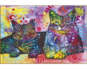 Rompecabezas Dos gatos (2000 pzas.)