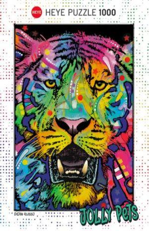 R.C. WILD TIGER. DEAN RUSSO. JOLLY PETS / TIGRE 1000 PZAS.