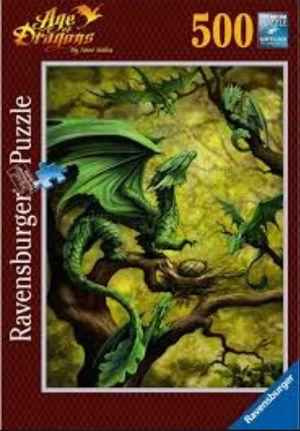 ROMPECABEZAS DRAGONES / 500 PZAS.