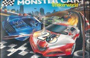 ALBUM MONSTER CARS STICKERWORLD