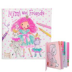 Cuaderno para colorear y amigos