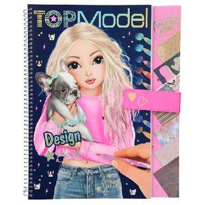 Cuaderno para colorear de diseño