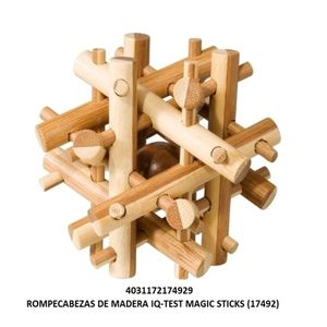 ROMPECABEZAS DE MADERA IQ TEST MAGIC STICKS
