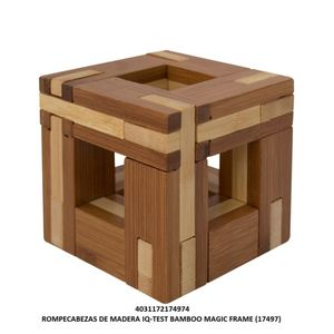 ROMPECABEZAS DE MADERA IQ TEST BAMBOO MAGIC FRAME