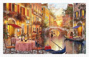 Rompecabezas Atardecer en Venecia (1000 pzas.)