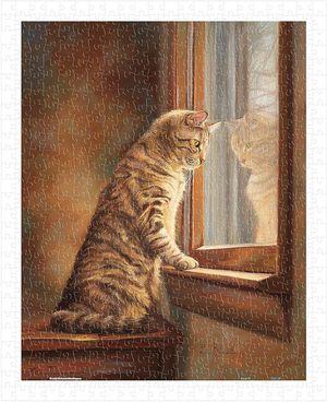 Rompecabezas Asomándose a la ventana (500 pzas.)