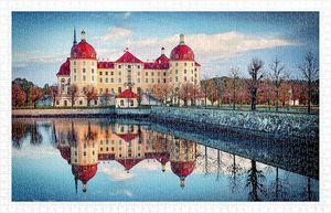 Rompecabezas Castillo Moritzburg Alemania (1000 pzas.)