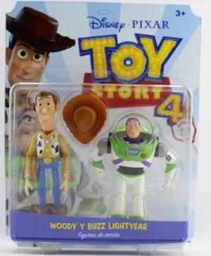 TOY STORY 4 - WOODY - BUZZ LIGHTYEAR / DISNEY PIXAR
