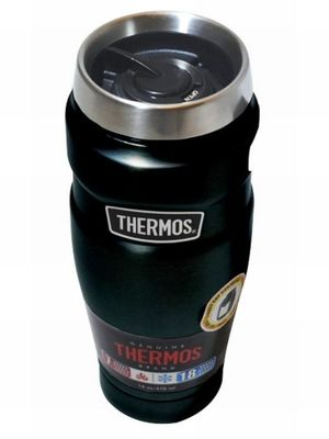 THERMOS ACERO INOXIDABLE SIN ASA 470 ML. / SK1005